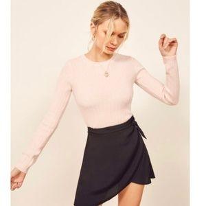 Reformation Brita Wrap Skirt